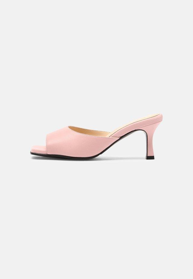 SLFASHLEY MULE  - Heeled mules - candy pink