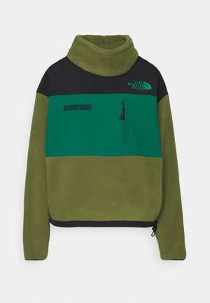 STEEP TECH JACKET - Fleece jumper - burnt olive green/black/evergreen