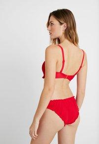 Pour Moi - FREE SPIRIT STRAPLESS STRAPS  - Bikini top - red - 2