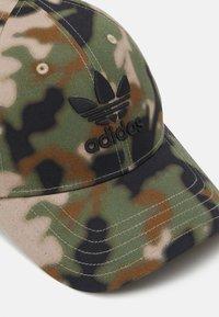 adidas Originals - CAMO UNISEX - Cap - black - 3