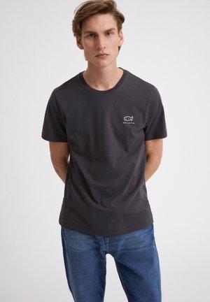 JAAMES DONT MESS IT UP - T-shirt print - acid black