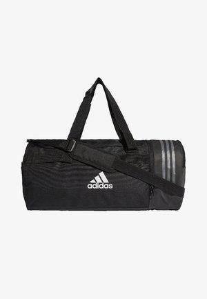 CONVERTIBLE 3-STREIFEN - Sports bag - black/white