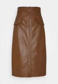 Marella - ACQUA - Áčková sukně - cuoio - 0