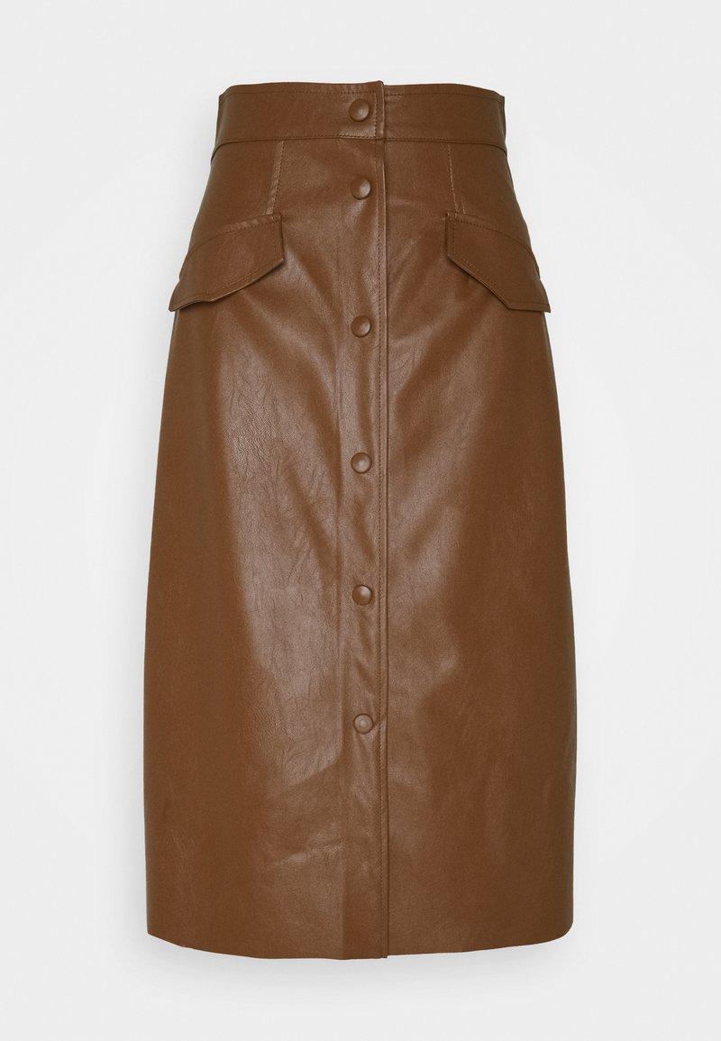 Marella - ACQUA - Áčková sukně - cuoio