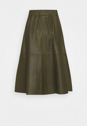 SKIRT - A-line skirt - leaf green