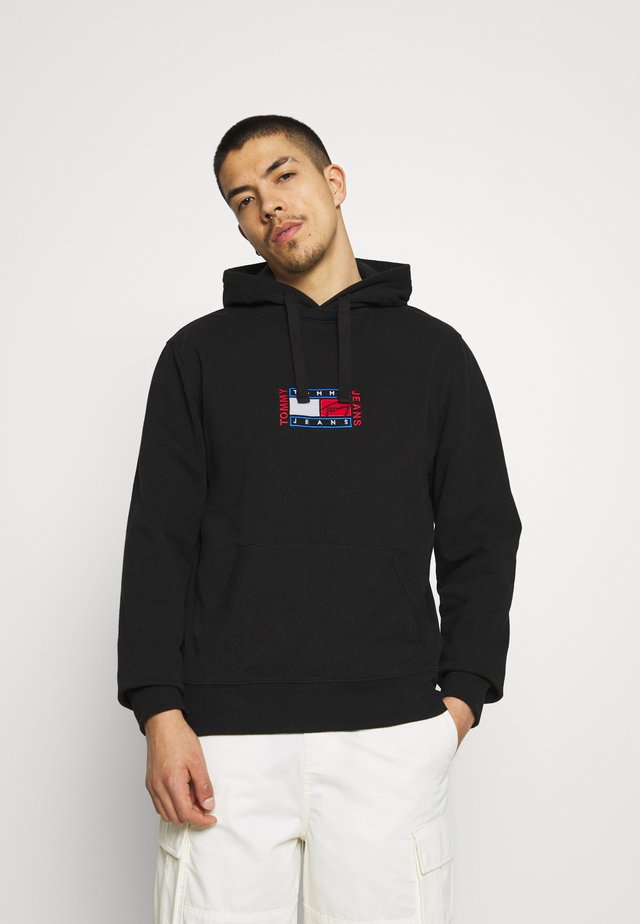 TIMELESS HOODIE UNISEX - Sweatshirt - black