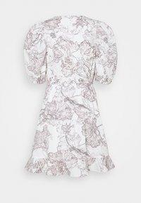 Bruuns Bazaar - POSY OLIVINE DRESS - Day dress - snow white - 7