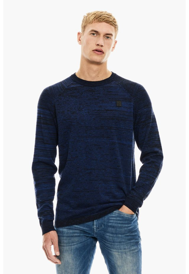Sweater - intense blue