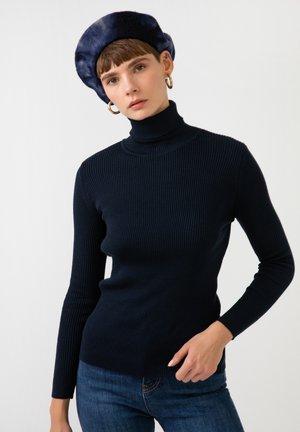TURTLENECK - Jumper - dark blue