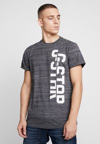 G-Star - LASH GR - Camiseta estampada - dark black - 0