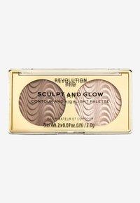 Revolution PRO - SCULPT AND GLOW DESERT SKY - Face palette - - - 0