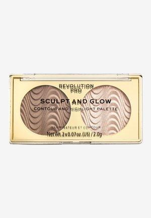 SCULPT AND GLOW DESERT SKY - Face palette - -