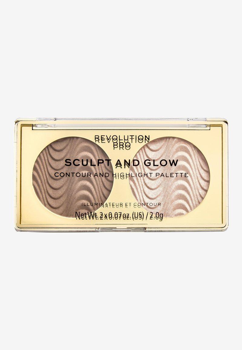 Revolution PRO - SCULPT AND GLOW DESERT SKY - Face palette - -