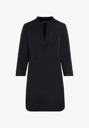 MIT KREMPELÄRMELN - Day dress - schwarz