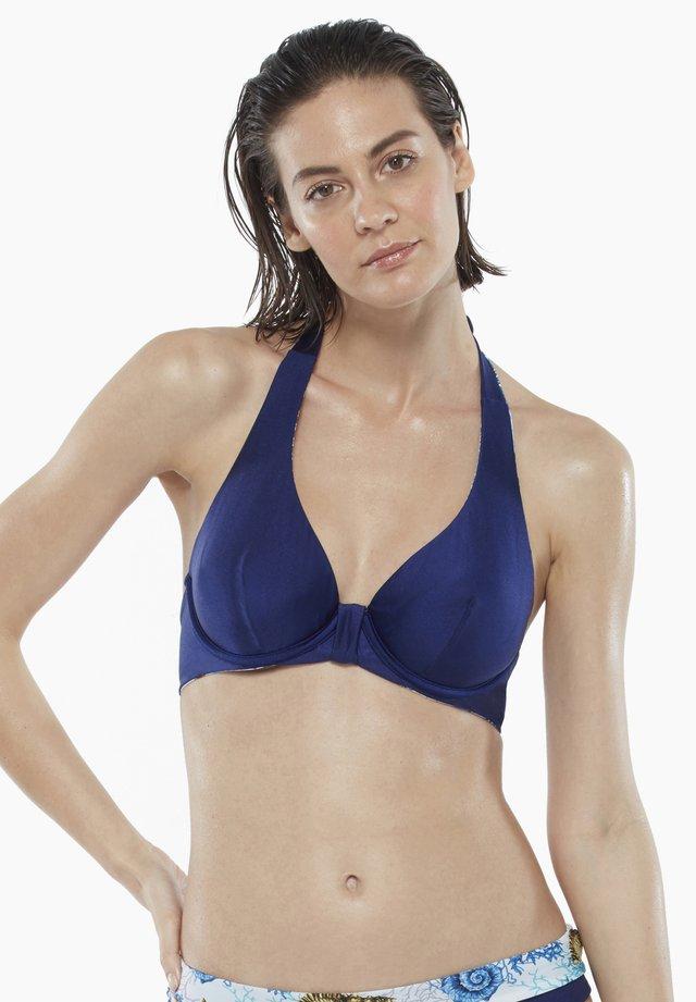 Bikini pezzo sopra - navy/blue