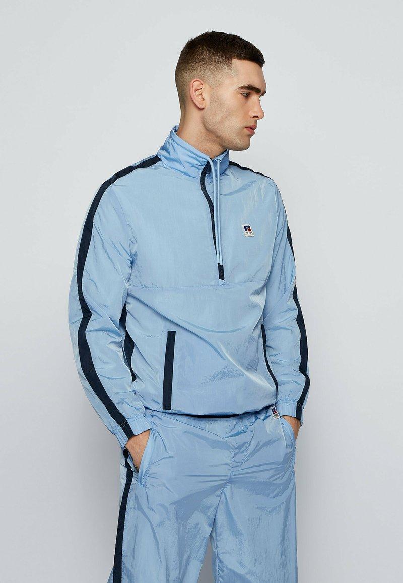 BOSS - SANYL - Sweater - open blue