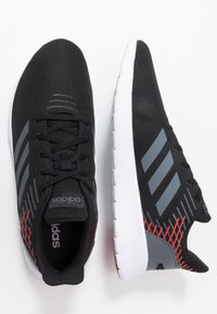 adidas Performance - ASWEERUN - Neutral running shoes - core black/onix/scarlet - 1