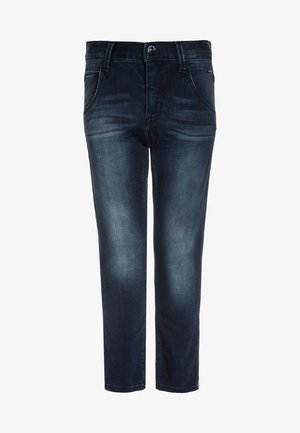 NITCLASSIC - Džíny Slim Fit - dark blue denim