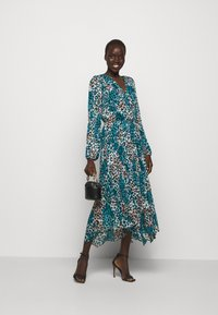 DKNY - Day dress - ivory gemstone black multi - 1