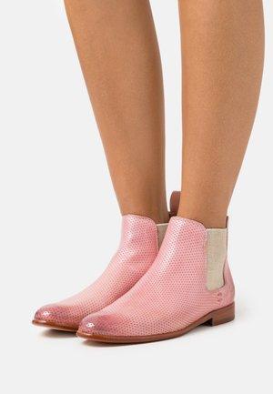 SUSAN  - Kotníková obuv - pale rose/oro/white/rich tan/natural