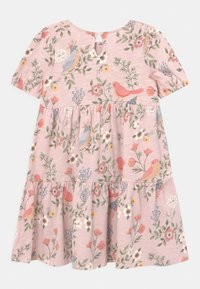 Lindex - MINI PUFFSLEEVE - Pletené šaty - light dusty pink - 1