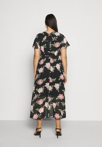 Dorothy Perkins Curve - OCCASIONL SLEEVE HIGH LOW  DRESS FLORAL - Day dress - multi coloured - 2