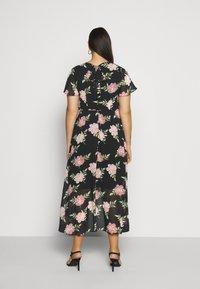 Dorothy Perkins Curve - OCCASIONL SLEEVE HIGH LOW  DRESS FLORAL - Robe d'été - multi coloured - 2