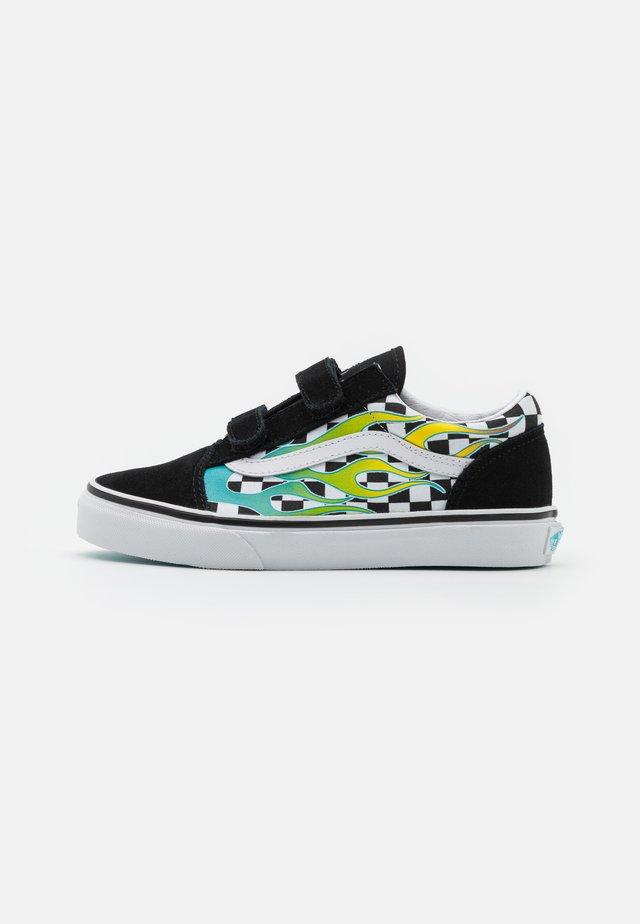 OLD SKOOL UNISEX - Sneakers laag - scuba blue/black
