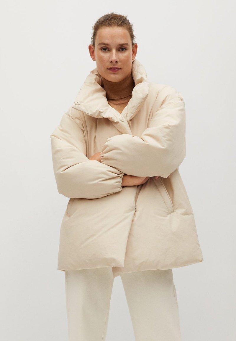 Mango - NATA - Winter coat - ecru