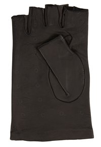 KARL LAGERFELD - Fingerless gloves - black