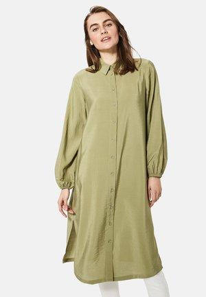 LONG SLEEVE - Button-down blouse - khaki