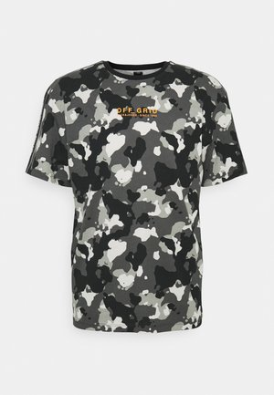 JCOCAMO TEE CREW NECK - T-shirt z nadrukiem - asphalt