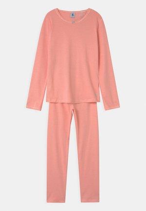STRIPE MILLERAIES - Pyjama set - peachy/marshmallow