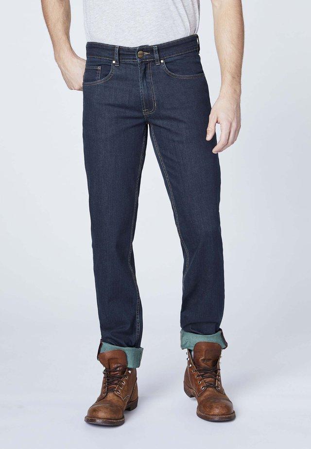 Straight leg jeans - overdyed
