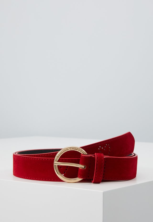 A HOLE LOT OF LOVE BELT - Pasek - red