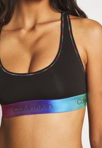 Calvin Klein Underwear - PRIDE UNLINED BRALETTE - Bustier - black - 4