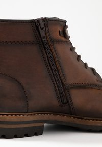 Bugatti - SILVESTRO - Lace-up ankle boots - brown - 5