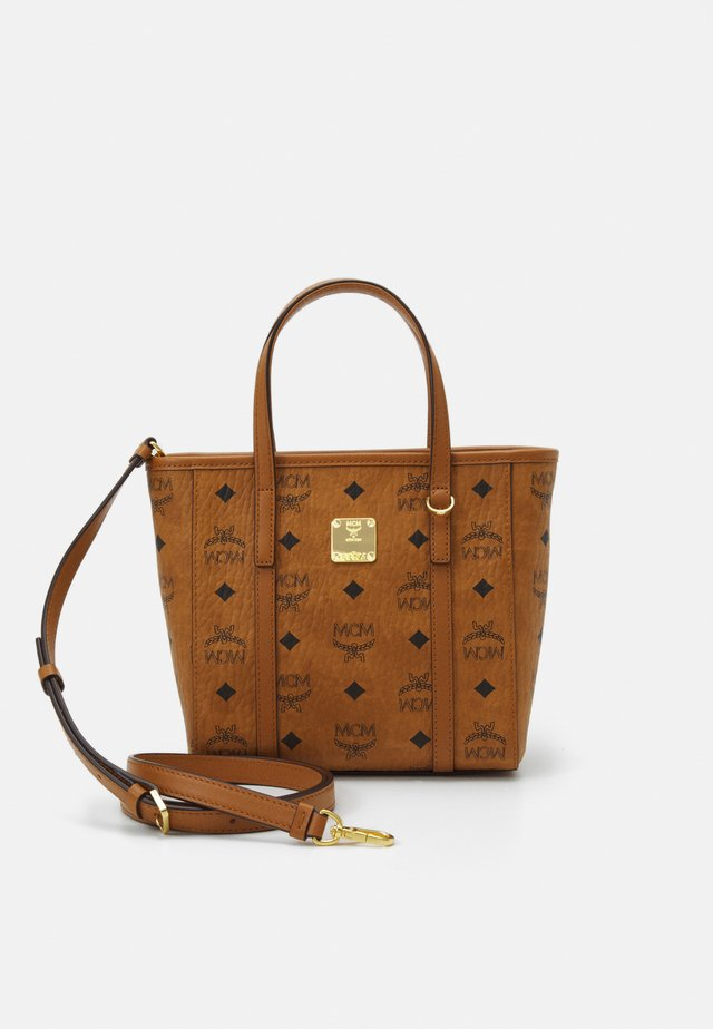 TONI VISETOS - Tote bag - cognac