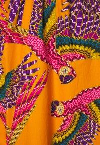Farm Rio - BEADED MACAWS MIDI DRESS - Day dress - orange - 2