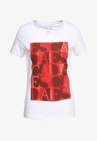Escada Sport - ZALANDO X ESCADA SPORT  - T-shirt con stampa - red - 4