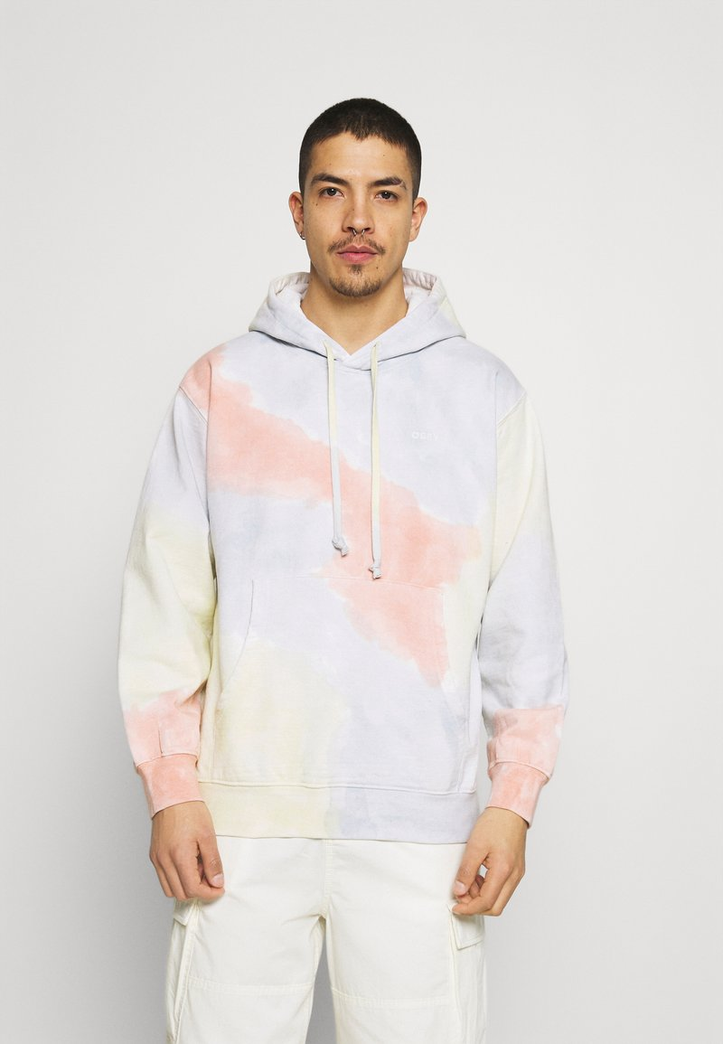 Obey Clothing - SUSTAINABLE TIE DYE - Collegepaita - multi coloured