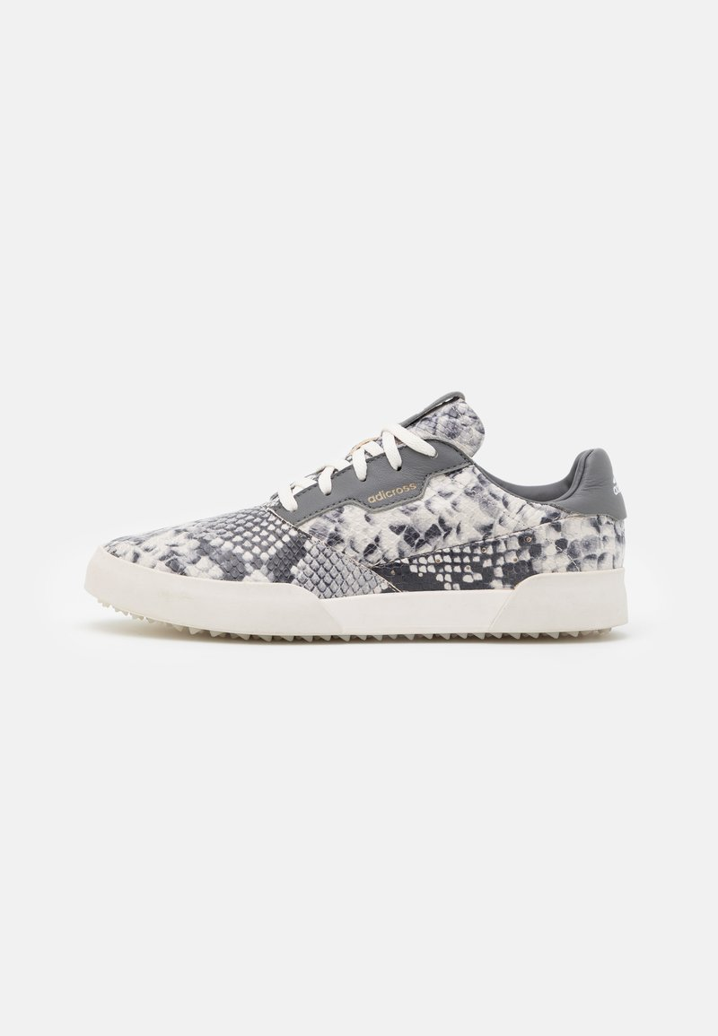 adidas Golf - ADICROSS RETRO RIPSTOP - Golfové boty - core white/grey four/footwear white