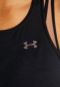 Under Armour - PERPETUAL BRA - Sports bra - black/blush beige/metallic cristal gold - 5