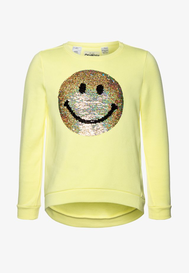 LAYERING - Sweatshirt - yellow