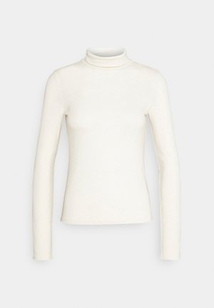 GIANNA POLO - Langærmede T-shirts - warm white