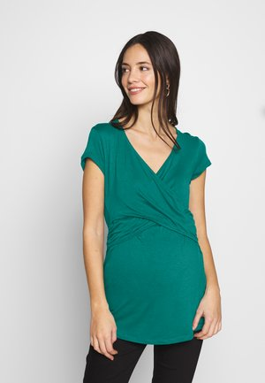 FIONA NURSING TOP - Blůza - emerald green