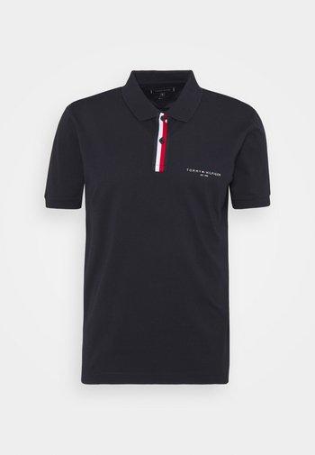 GLOBAL PLACKET REGULAR - Polo shirt - desert sky