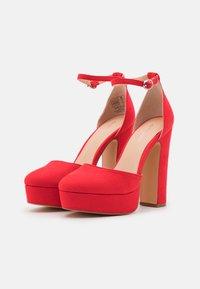 Even&Odd - High heels - red - 2