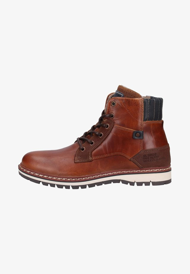 Bottines - tan/cognac