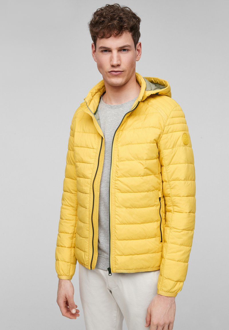 s.Oliver - Winter jacket - yellow